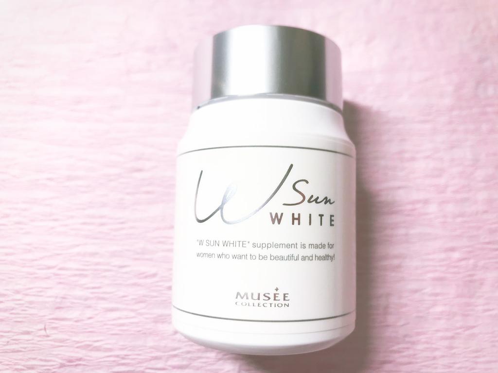 飲む日焼け止めミュゼコスメダブルサンホワイト美白効果なし口コミレビュー