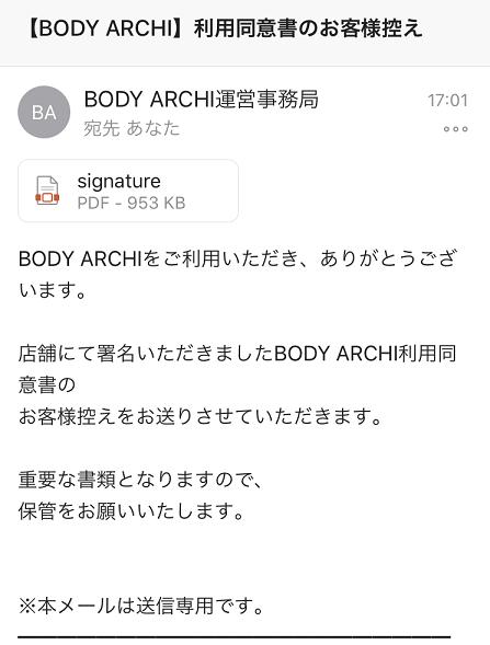 BODYARCHI表参道